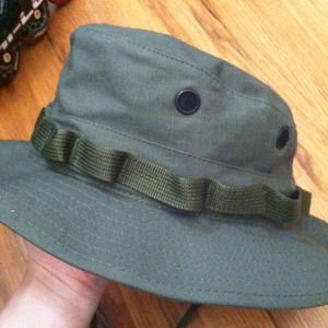 NWOT Hunter green fishing hat