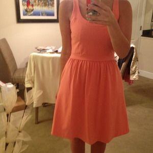 Cynthia Rowley Coral Racerback Dress