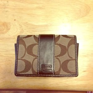 Coach bags business or credit card holder poshmark coach bags coach business or credit card holder colourmoves