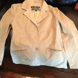 Jackets & Blazers - Genuine leather sueded jacket
