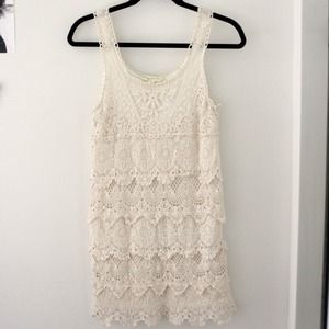 Staring at Stars Crochet Dress