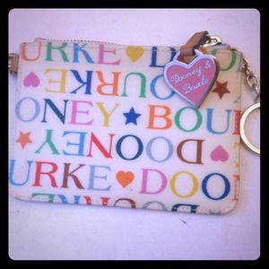 Dooney & bourke coin clutch