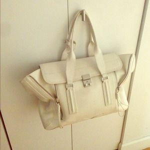 Philip lim auth pashili bag white