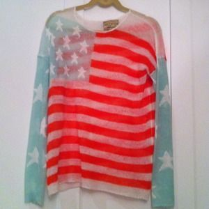 Authentic wildfox sweater white label