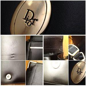 Dior Bags - Vintage Dior Clutch Handbag