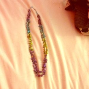 Multicolored necklace!