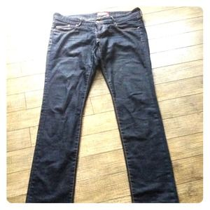 H&M skinny dark denim jeans