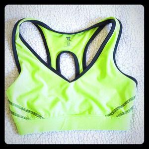 Neon Sports Bra👟