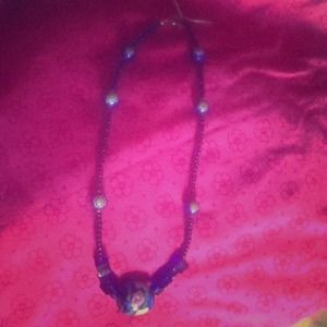 Vintage Blue glass beads