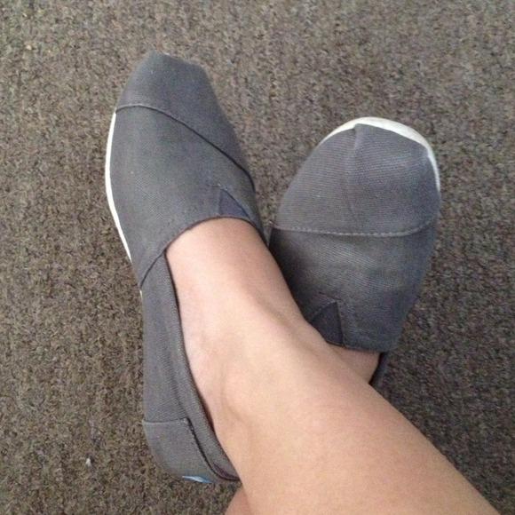 Toms Shoes | Reservedtoms Ash Canvas