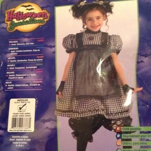 Other - Gothic Rag Doll Halloween Costume for girls.