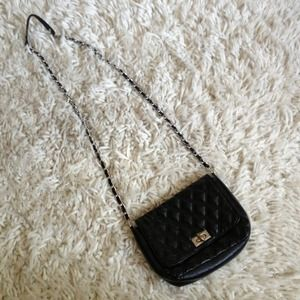 Handbags - Black cross body bag