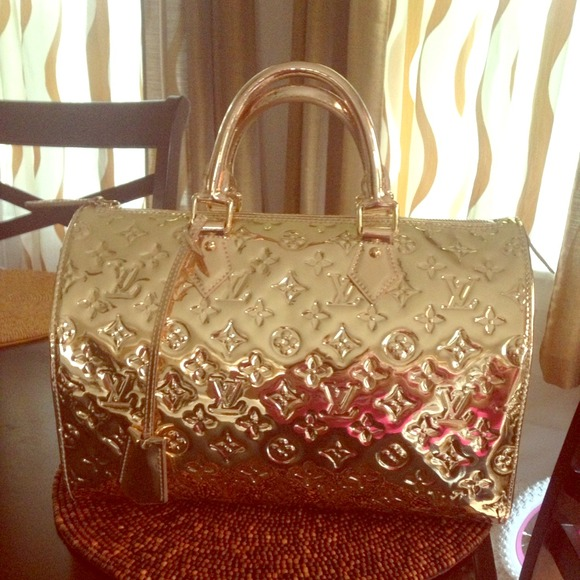 Louis vuitton louis vuitton speedy 30 miroir from ashley for Miroir louis vuitton