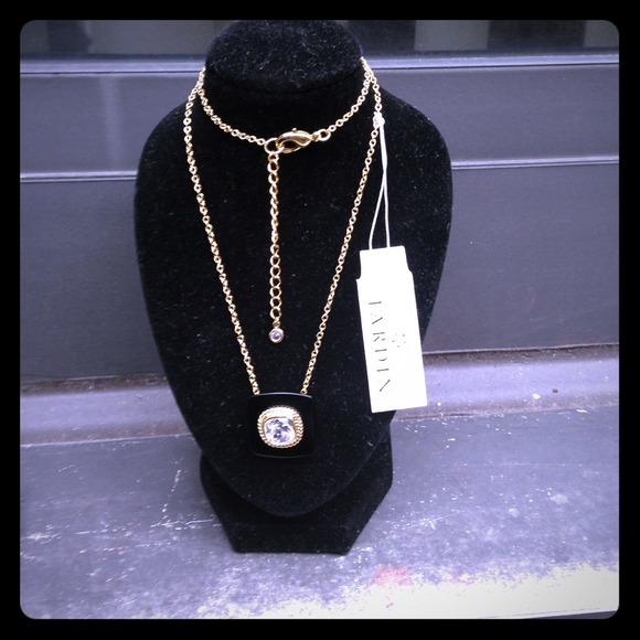 jardin Jewelry - Designer  ONYX Tile Pendant