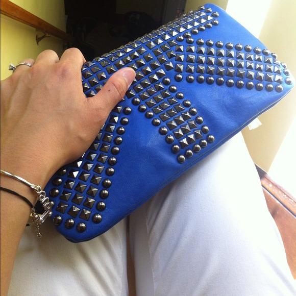 🎉🎈<Host Pick>🎉🎈Cobalt Blue clutch/handbag