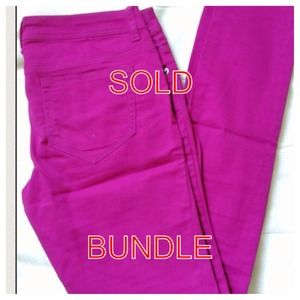 RESERVED - BUNDLE Purple jeans