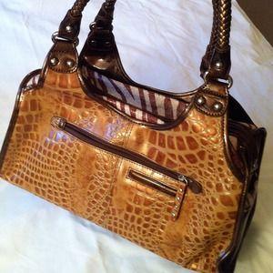 Madi Claire Bags Tamara Leather Satchel Poshmark