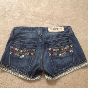 Taverniti So Denim Shorts