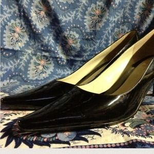 #Patent Leather Pumps