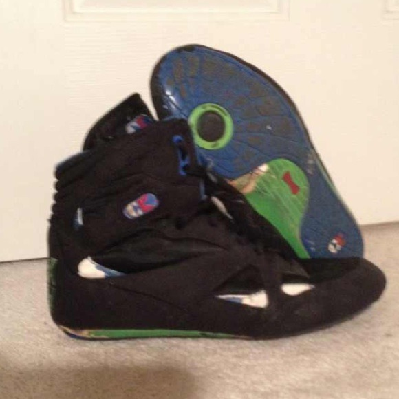 155df0788dc3 cliff keen Shoes - Ck black widow wrestling shoes