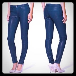 Rich and Skinny Blue legacy wax coated jean