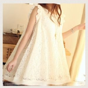Dresses & Skirts - Lace babydoll top/dress
