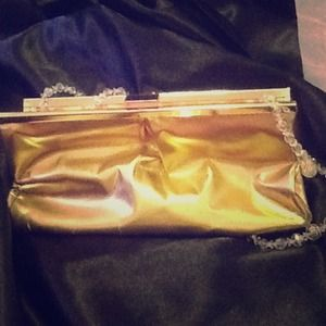 Michael KORS clutch gold