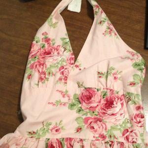 Dresses & Skirts - Beautiful floral halter dress