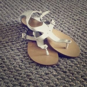 Shoes - White dollhouse brand sandals