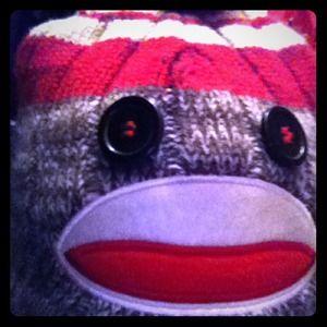 ❤️️bogo❤️️Cute sock monkey beanie...