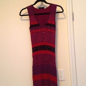 Karen Millen long beaded dress