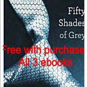 Other - Free W purchase Set Ebooks Fifty shades of gray