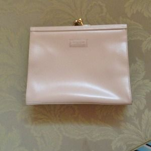 Original Fendissime Italian cream colored clutch
