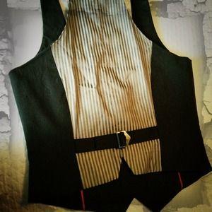 Ben Sherman Tux Style Vest-NWOT