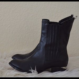 reduced! Choies Black Mid-Calf boot