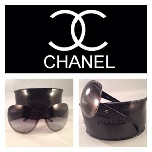 Authentic CHANEL Black Sunnies