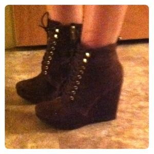 REDUCEDMichael Kors Suede Ankle Boots