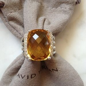 DAVID YURMAN AUTHENTIC WHEATON RING, CITRINE