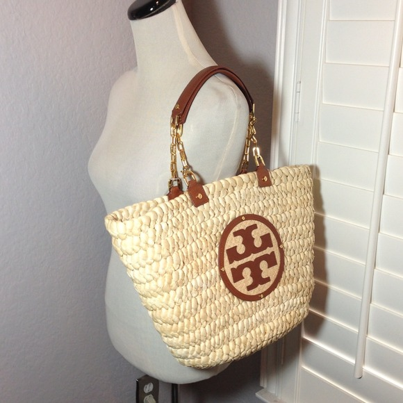 dbe0748c1ce Tory Burch Audrey Straw Tote Bag