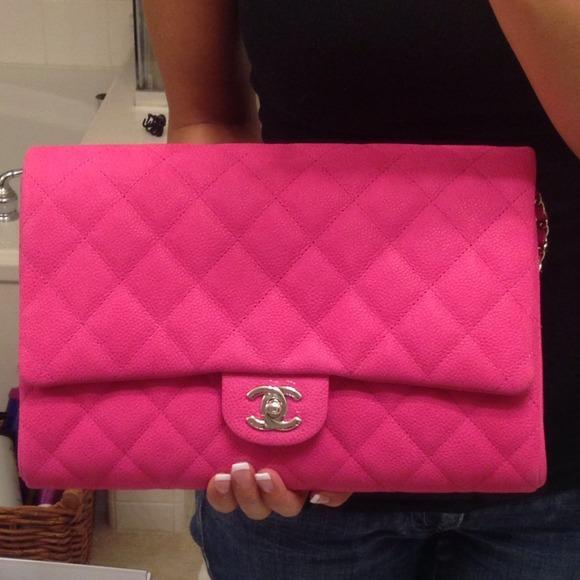 Chanel Clutch Bag Pink Chanel Bags Chanel Clutch