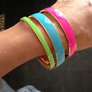 Host Pick: Neon Arm Party Set from J Crew