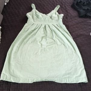 Mint cotton casual dress