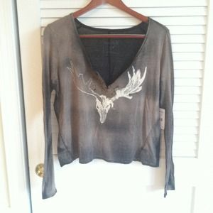 Free People black comb top with tags