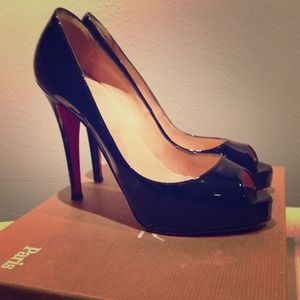 Christian Louboutin authentic 37.5 w/ box-REDUCED