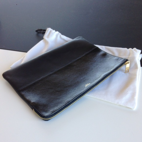 where to buy authentic celine bags - 9% off CELINE Clutches & Wallets - CELINE clutch pouch in black ...