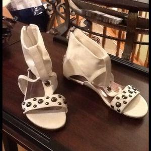 Gladiator sandals!