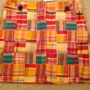 Jcrew mini-skirt!