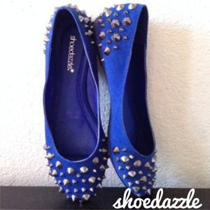 Shoedazzle Shoes - Spiked flats