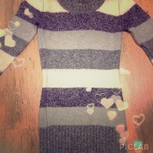 A Sweater Body-con Dress/Tunic