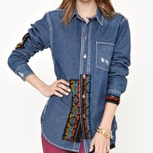 Tops - NEW Chambray Denim Top
